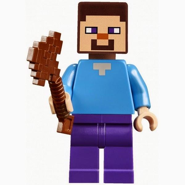 Lego Minecraft Steve M...