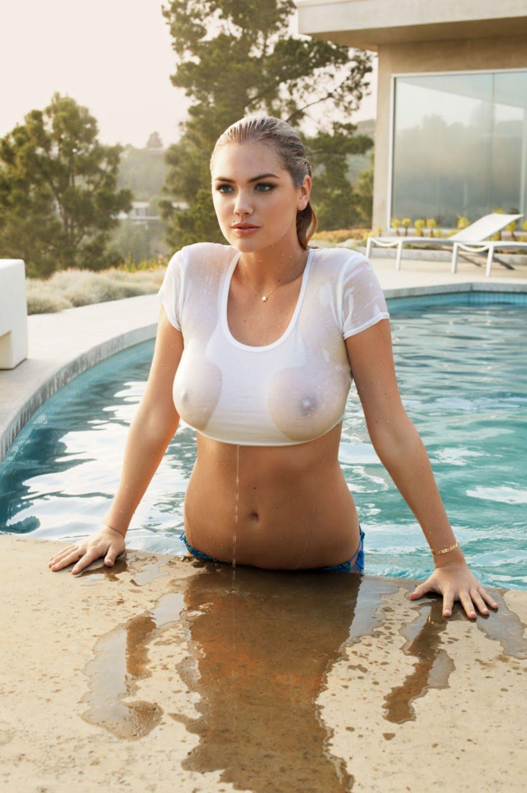 Kate upton wet tshirt video