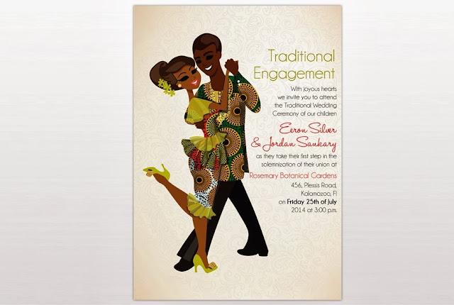 African Wedding Invitation: Cassandra Bromfield's Wacky World Of Wedding Traditions
