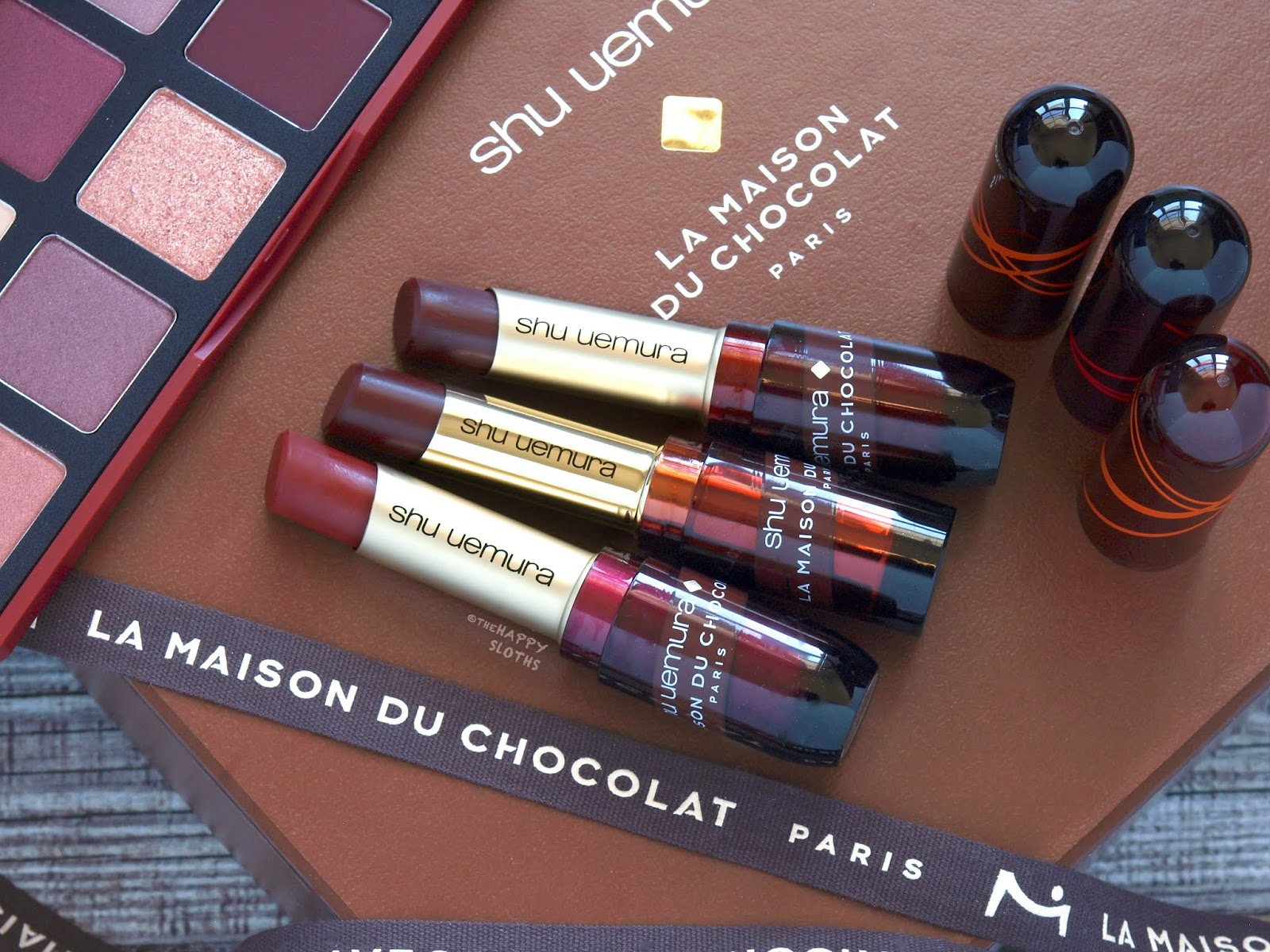 Shu Uemura | Holiday 2018 La Maison du Chocolat Collection | Rouge Unlimited Lipstick: Review and Swatches