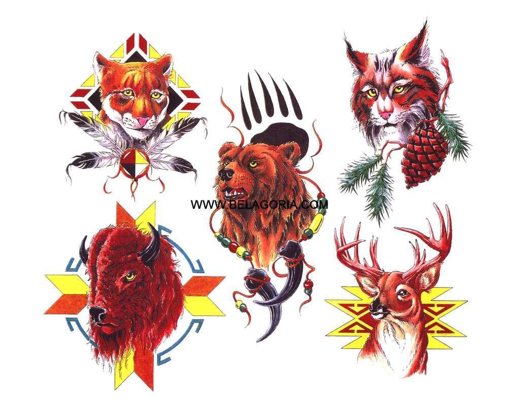 diseños de ttuajes de indios gratis