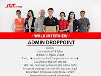 lowongan kerja admin droppoint J&T express surabaya