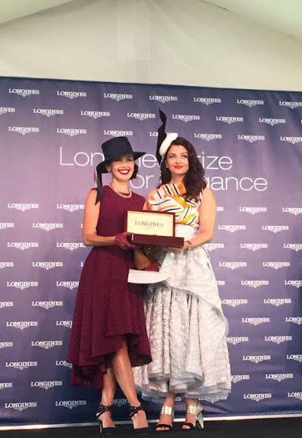 Aishwayra Rai slays Australian deisgner sydney longines watches races fashion Toni Maticevski