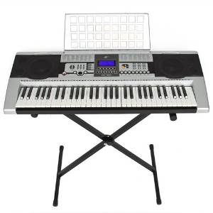 Electronic Music Keyboard Piano with X Stand LCD Display Screen
