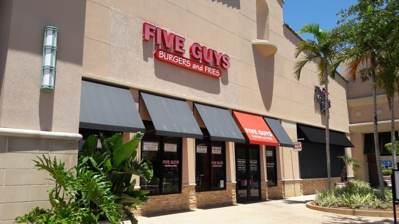 Five Guys Burgers and Fries, Viera, FL