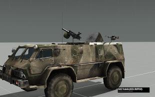 Arma3 MODのGAZ Vodnik