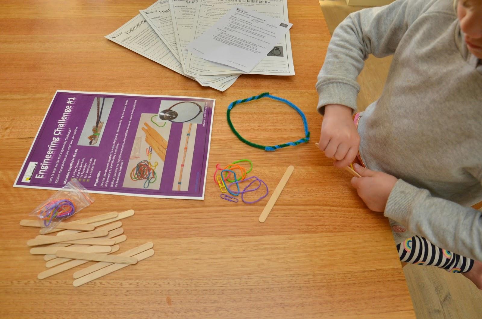 Celebrating Science Week With Stem Nest Activity Kits