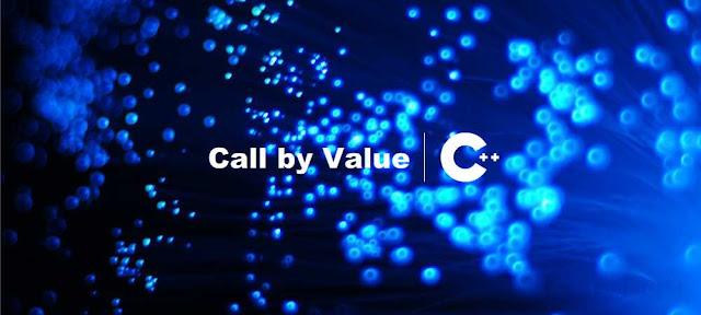 Cara dan Contoh Pemanggilan dengan Nilai (Call by Value) C++ - belajar C++