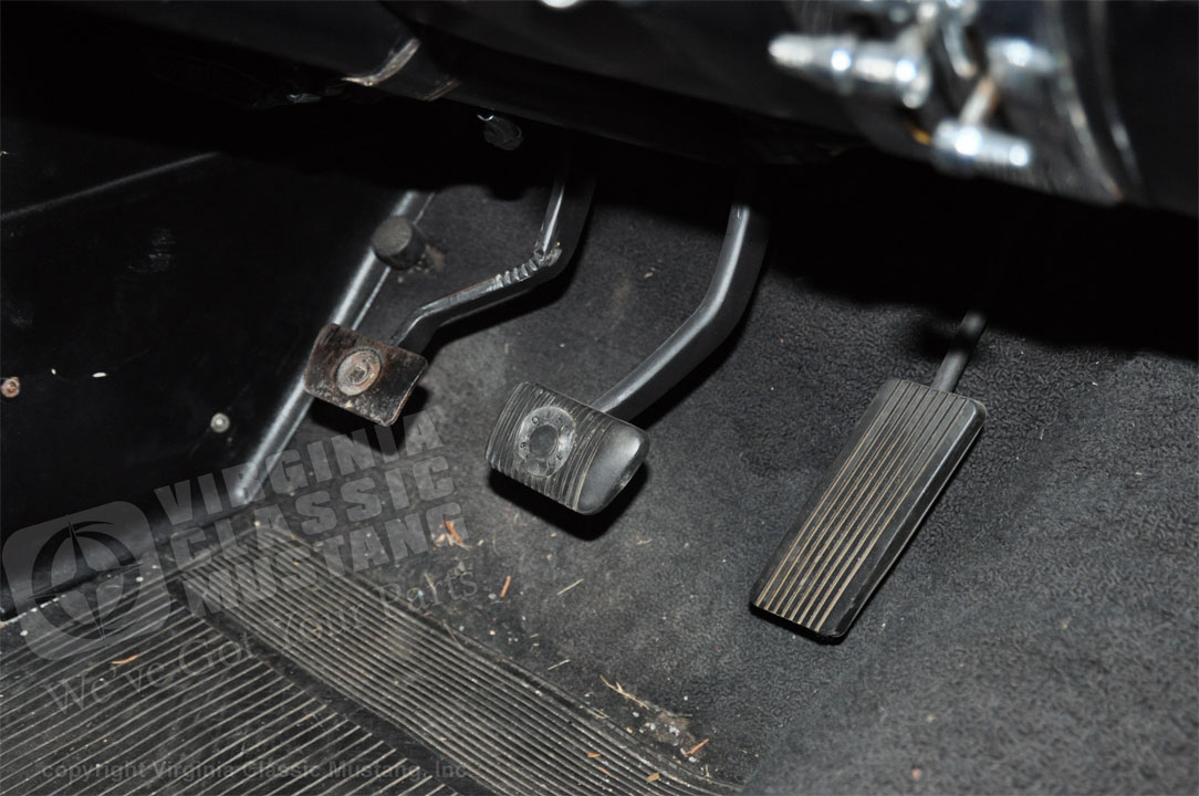 Virginia Classic Mustang Blog: 1965 Mustang Disc Brake Pedal Pad