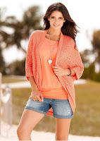 Jachetă tricotată de la BODYFLIRT