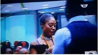 #BBNaija: Big Shock as Coco Ice Brings Out Her B**bs for Bassey to Suck on Live Television