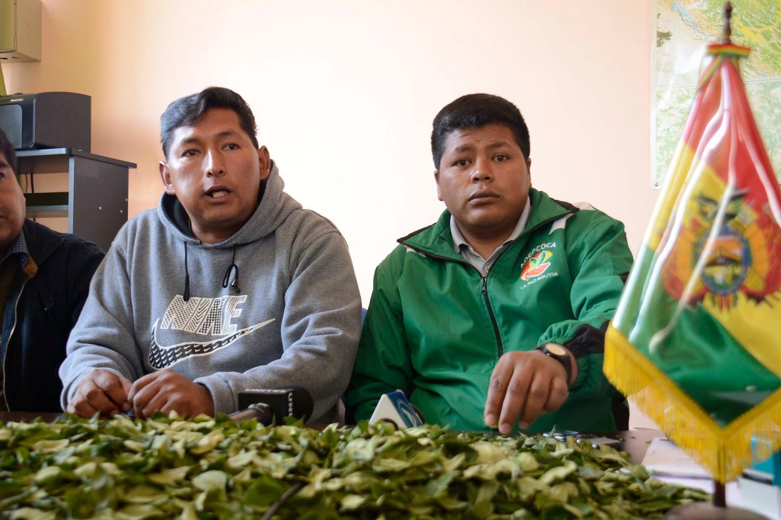 Gutiérrez fue ratificado como presidente de ADEPCOCA durante la resistencia a la toma de su sede / ABI