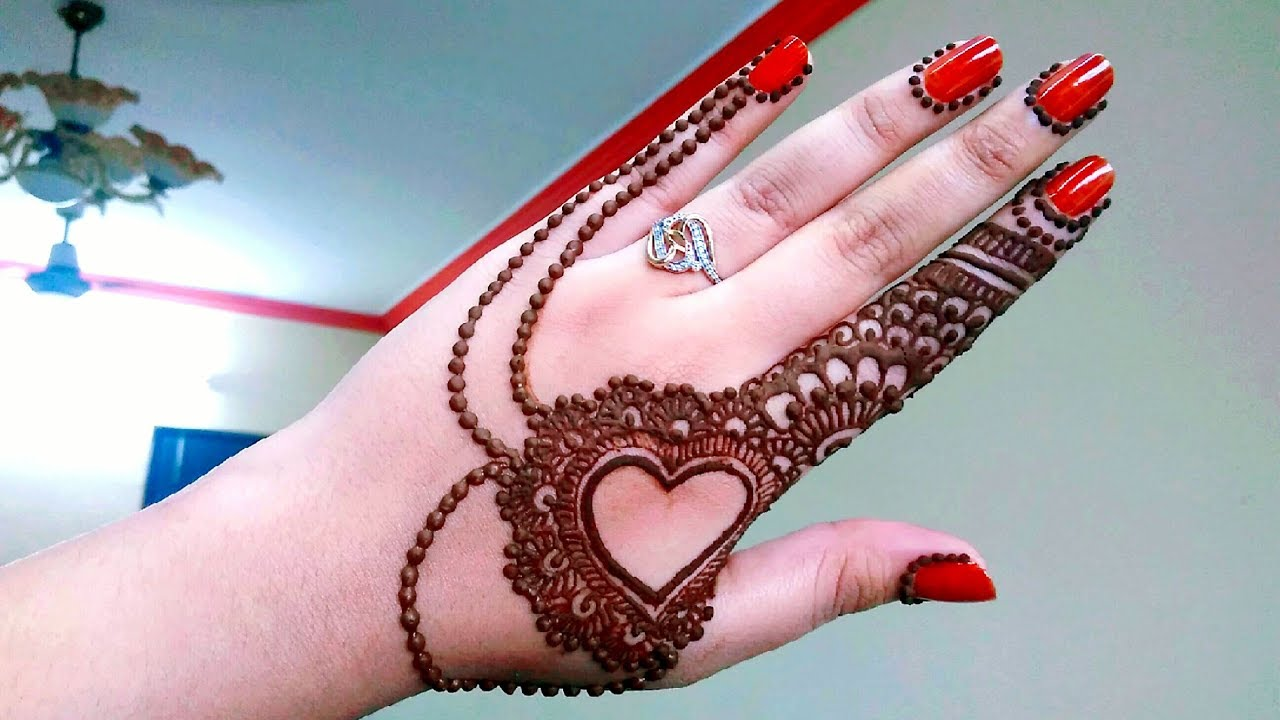 top 24 simple and latest mehndi design images 2017-2018