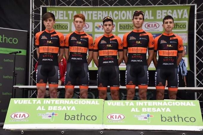 El equipo junior no tuvo sus mejores días en la Vuelta a Besaya