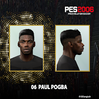 PES 6 Faces Paul Pogba by El SergioJr