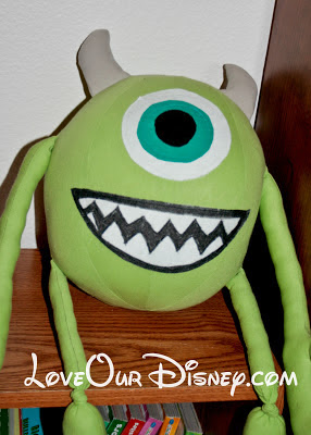 Adorable DIY Stuffed Monsters Inc Mike Wazowski tutorial. With a free printable pattern. This is great! LoveOurDisney.com
