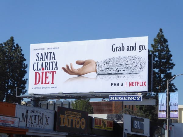 Santa Clarita Diet series teaser billboard