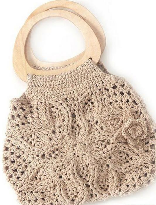 Bolsa en crochet Tatiana (Patrón)
