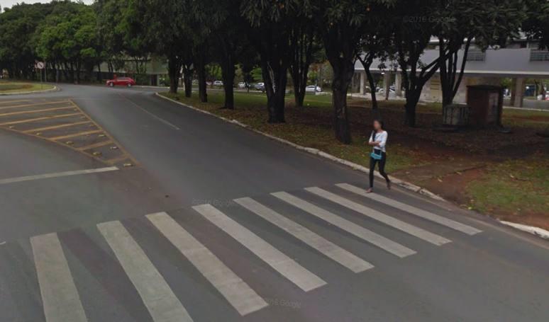 faixa de segurança asa norte - Google Maps