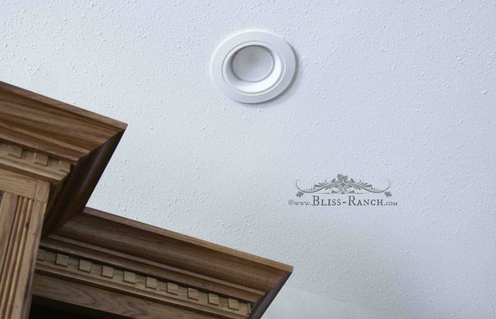 Bliss Ranch: LED Retrofit Kitchen Lights