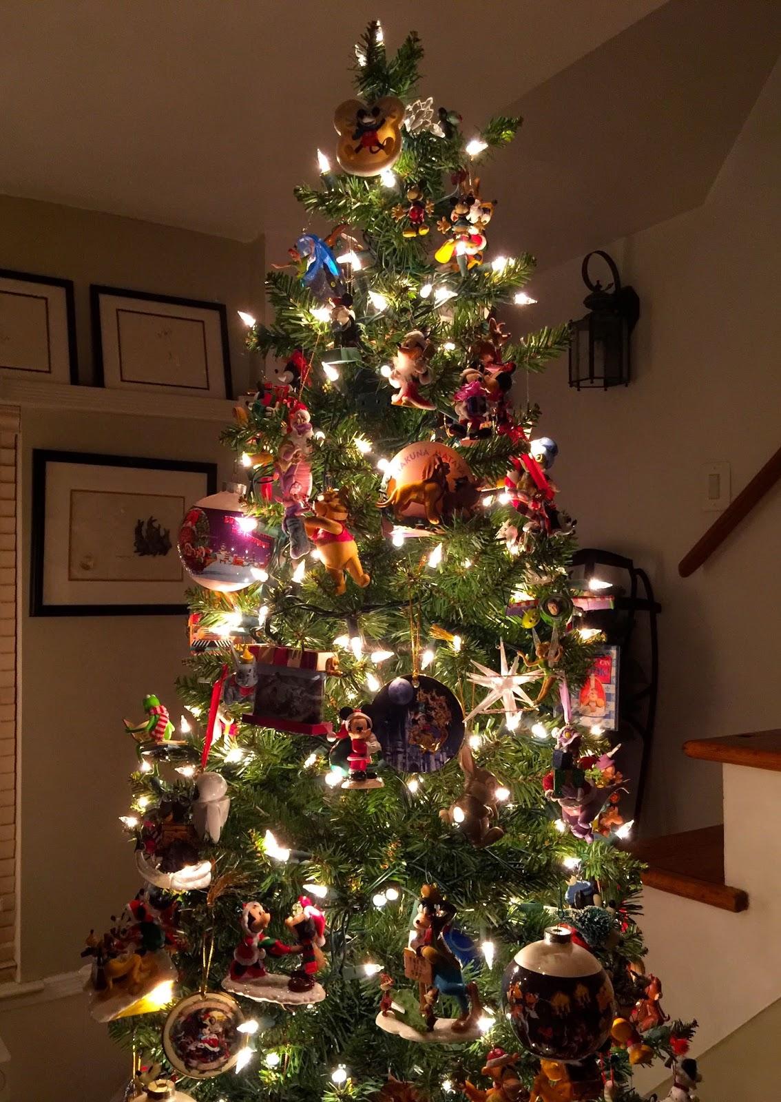 Disney Musings Wordless Wednesday Our Disney Christmas Tree