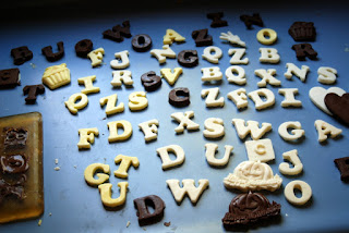 Candy Bars of Different Letters!