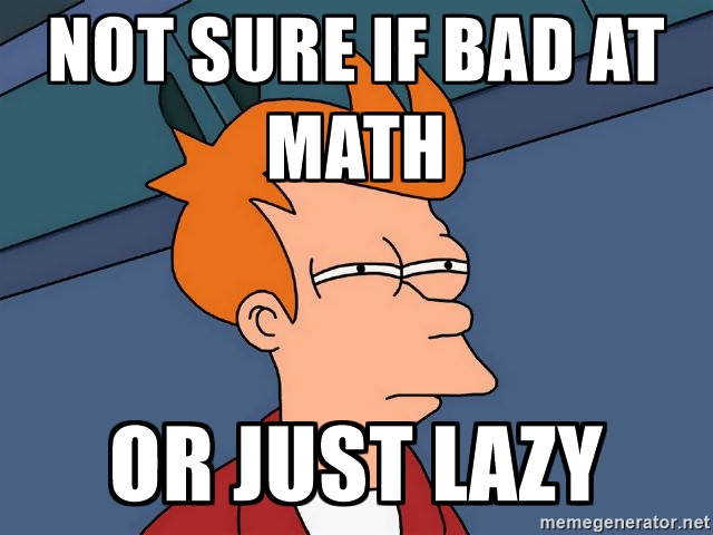 Studies Confirm:Being Bad At Math Might Be A Mental Illness Or Disability