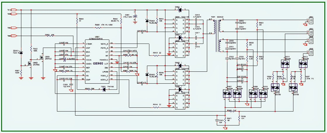 acer al1715 lcd monitor schematic power supply. Black Bedroom Furniture Sets. Home Design Ideas