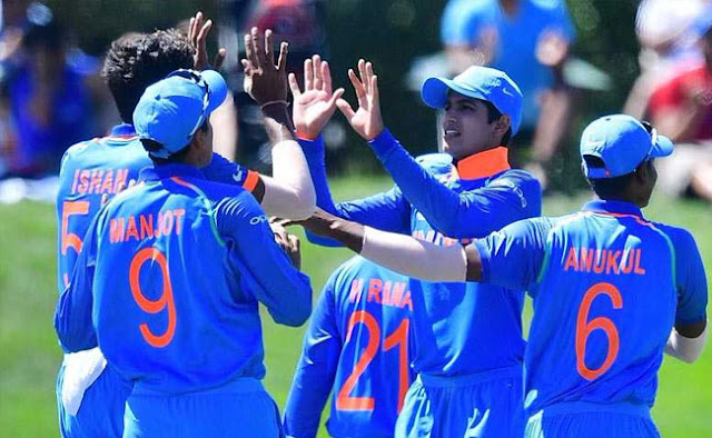 India vs Australia U19 final LIVE: Australia's three wickets down, scores cross 100 runs