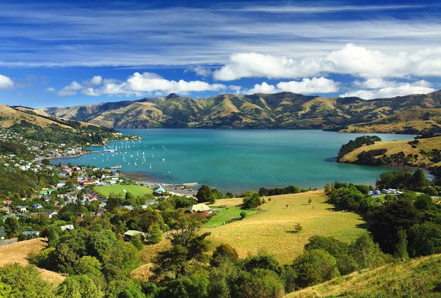 Dia 1: Visita a Christchurch, a la península de Akaroa i dormir a on puguem...