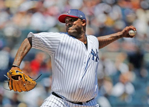 Sabathia forced to exit early, Yankees lose to Toronto 4-1