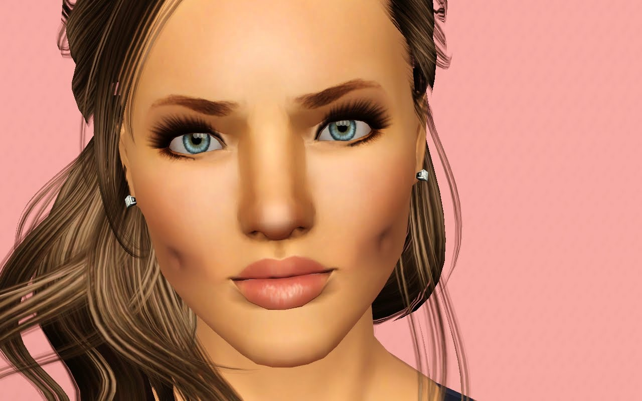 Simulate on her face 6