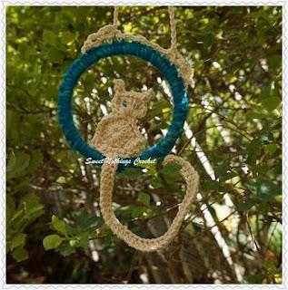 crochet cat free pattern, crochet cat motif free pattern