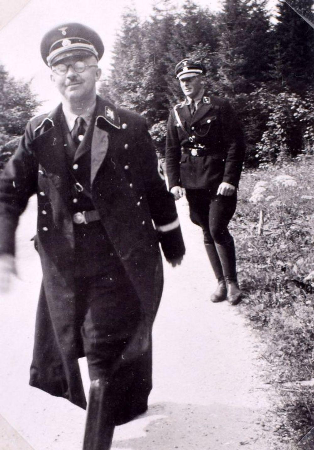 SwastikaCovered Photo Album Found in Eva Brauns Bedroom