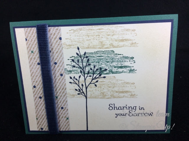 Timeless Texture, Thought and Prayers, Jar of Love, Stampin'Up!, Frenchie Team