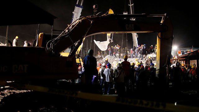 Rescatan a niña de ocho años sepultada por 33 horas tras el sismo en México