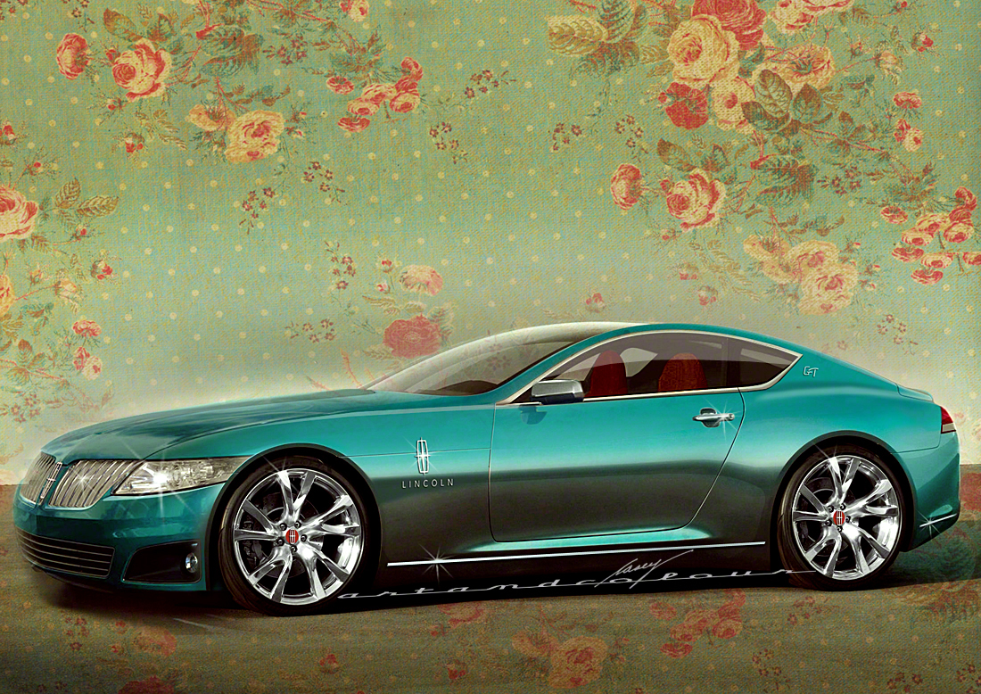 Casey Artandcolour Cars 2014 Lincoln Mk 9e Coupe Plug In Sports Luxury