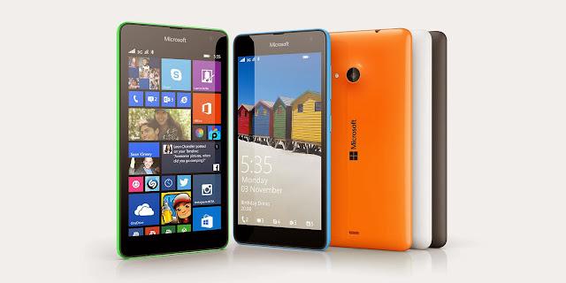 Harga Microsoft Lumia 535 Terbaru
