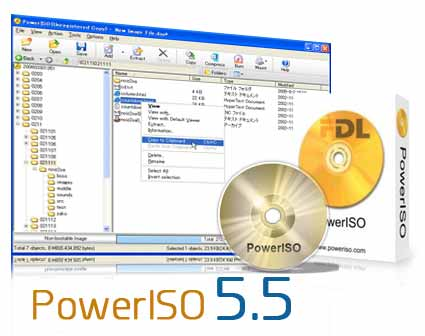 Download PowerISO 5.5 serial included,tested and workinf!