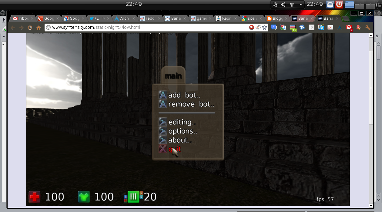 BananaBread, Sauerbraten in HTML5 - free games