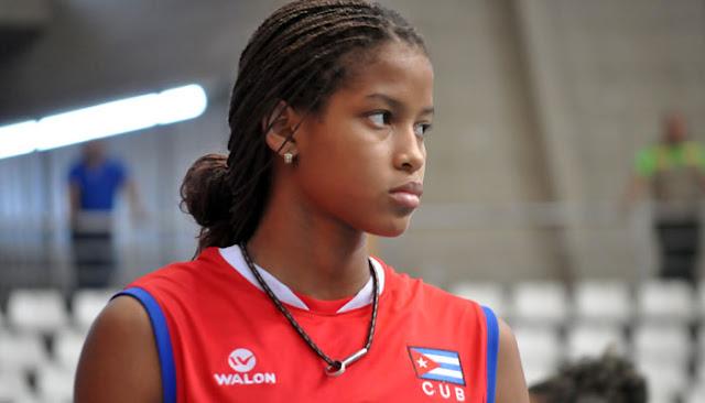 La Federación Cubana de Voleibol suspendió por cuatro años a la promesa deportiva Melisa Vargas, de 18 años