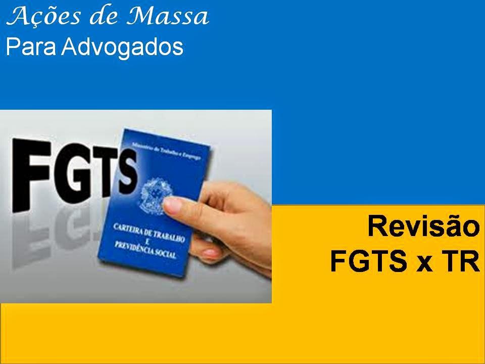 Ações De Massa Modelo De Petição Revisão Do Fgts