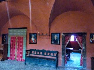 Замок Сент-Миклош. Интерьеры дворца