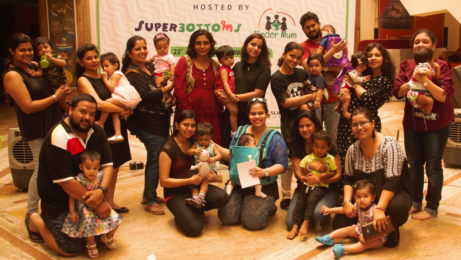 Superbottoms hosts the \'Great Cloth Diaper Change\' in Mumbai