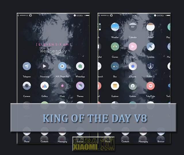Xiaomi Theme King of The Day V8 Terbaru For MIUI [New]