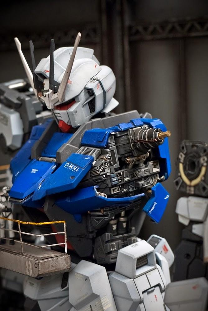 Custom Build 1 60 Gundam Assemble Plant Hangar Diorama