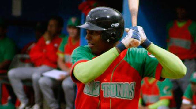 El tunero anda bateando 406, con 104 hits en 256 veces al bate