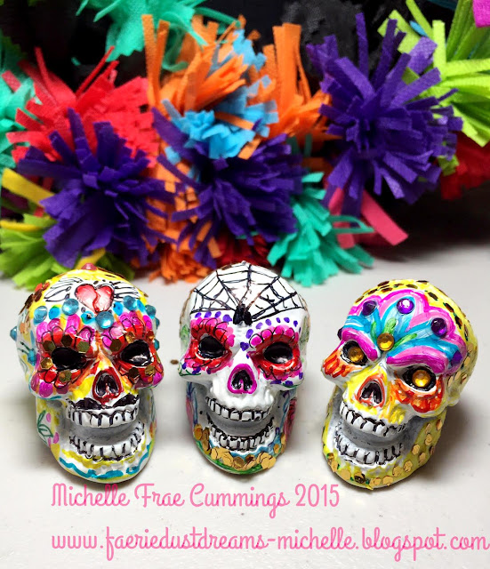 Faerie * Dust * Dreams: How to make a Sugar Skull - Day of ...