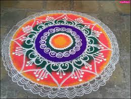 Latest Simple Rangoli Designs