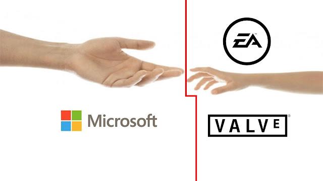 Microsoft rachèterait EA : mais qui y croit?!